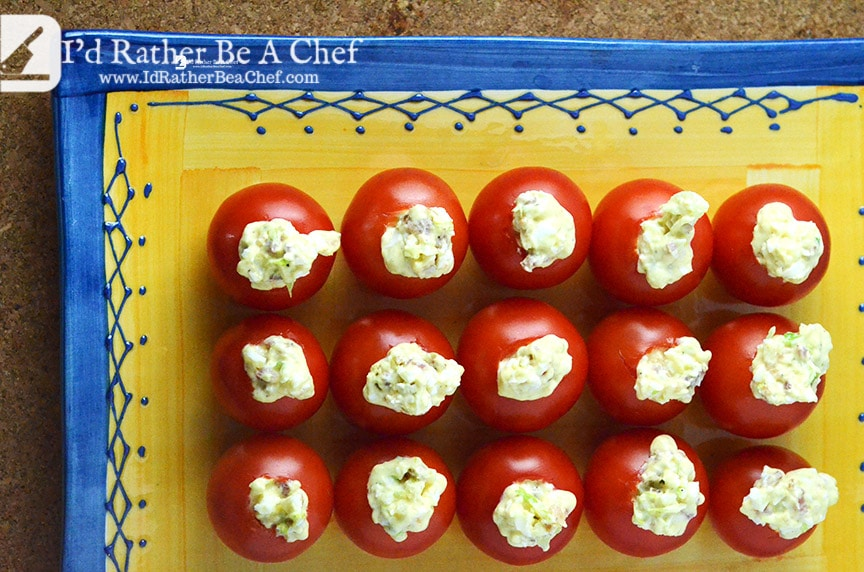 super delicious blt tomato bites recipe