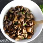 Easy Sauteed Mushrooms Recipe