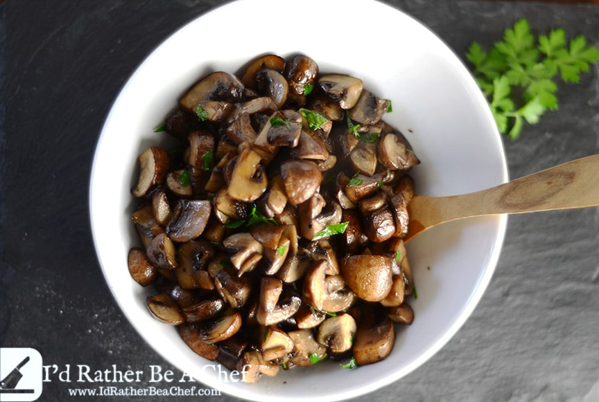 easy sauteed mushrooms
