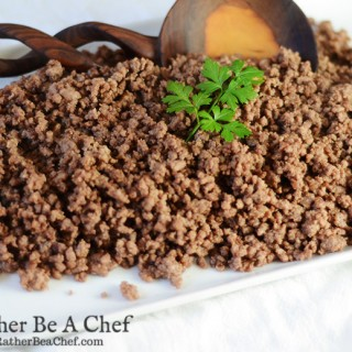 easy seasoned ground beef recipe