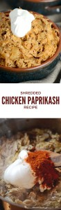 This chicken paprikash recipe is simple & satisfying on every level. It's warming, nourishing, filling & tastes great too. Gluten Free, Primal & Low Carb!
