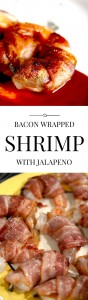 Bacon wrapped shrimp with roasted jalapeno is a perfectly balanced appetizer. Try it with dozens of other dishes too!