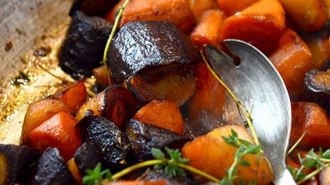 Butter Braised Carrots with Thyme Recipe