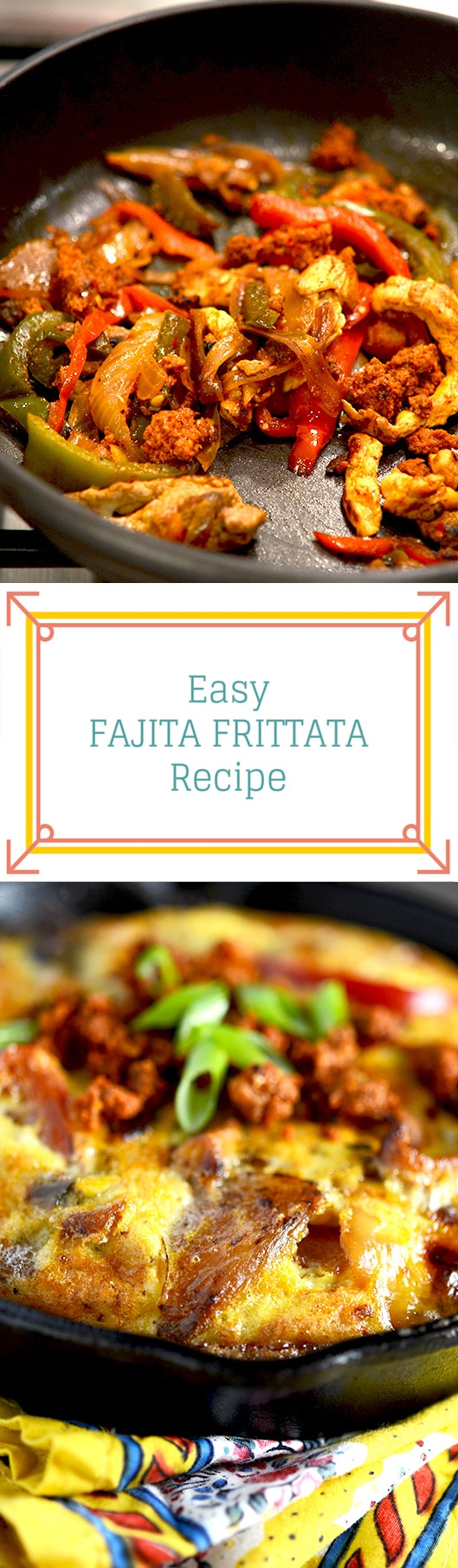 Fajita Frittata Recipe Id Rather Be A Chef