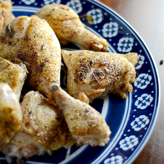 crispy skin chicken recipe
