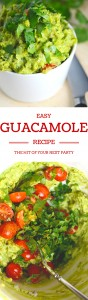 A super easy guacamole recipe with balanced flavors that is a snap to make.