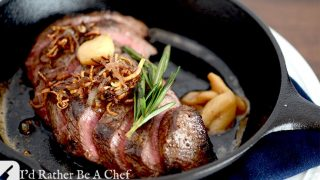 FLAT IRON PAN SEARED STEAK RECIPE