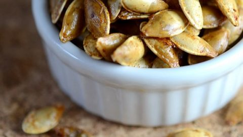 Butter Roasted Pumpkin Seeds