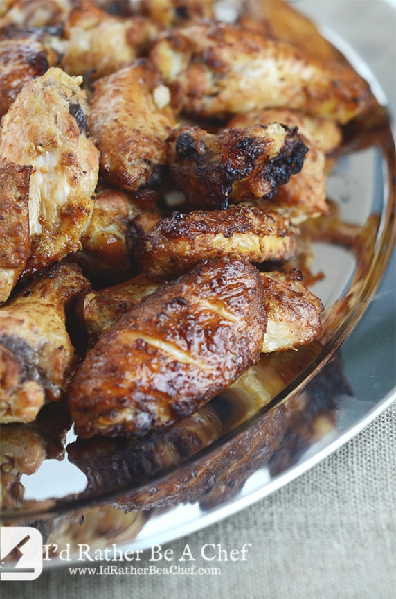 smoked wings recipe with no sauce