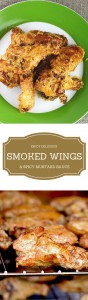 Smoking the wings gives you a tender, juicy and delicious outcome! The spicy mustard sauce just knocks it out of the park. Easy too!