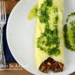 Wild Mushroom Omelette Recipe