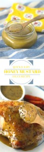 A quick and easy honey mustard sauce recipe that is simple, zippy and fun to eat! Made with raw honey, this is paleo, gluten free & low carb
