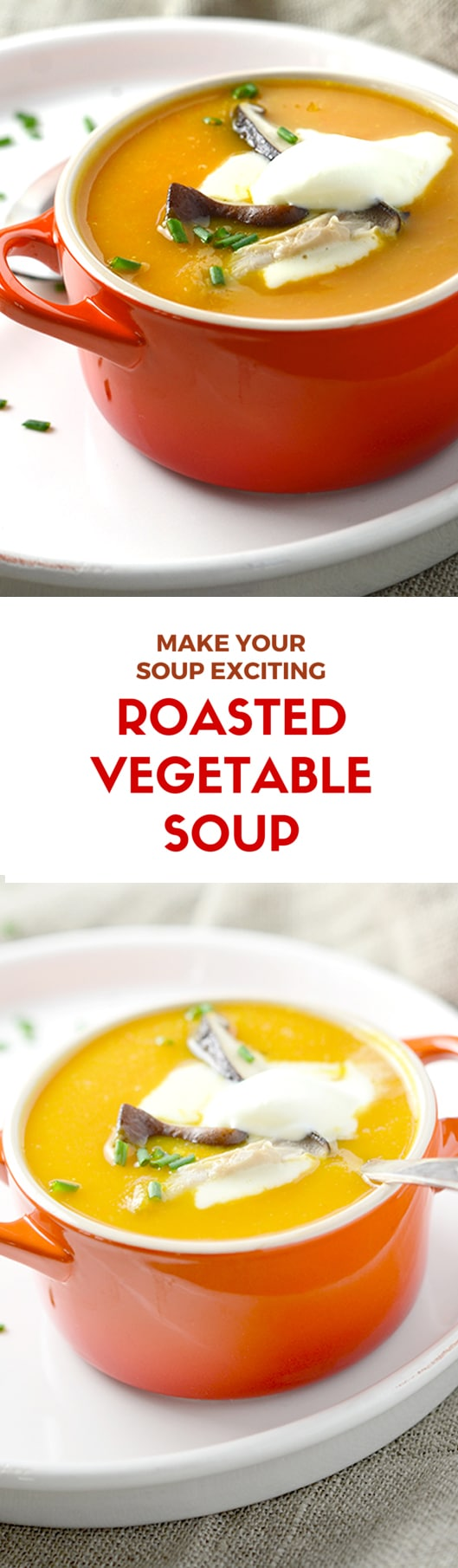 roasted vegetable soup packed up with delicious roasted vegetables ...