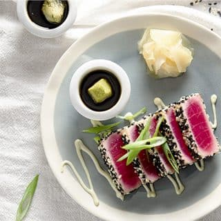 low carb seared ahi tuna recipe