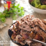 A super easy pulled pork recipe with 5 minutes of preparation, delicious adobo seasoning and a perfect dry rub.