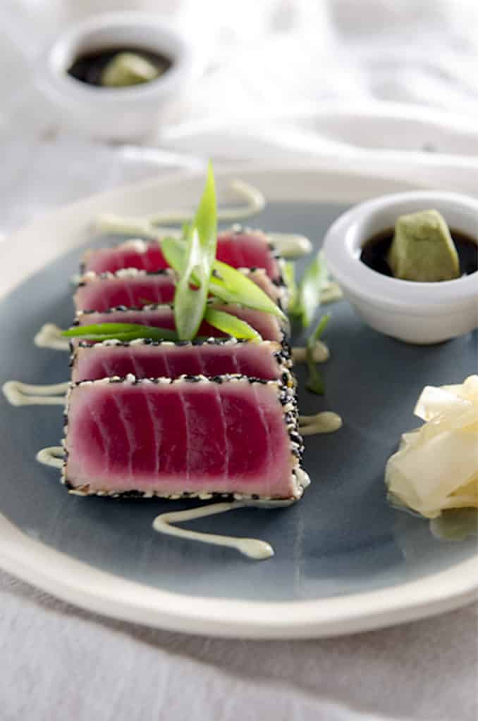 seared ahi tuna recipe low carb