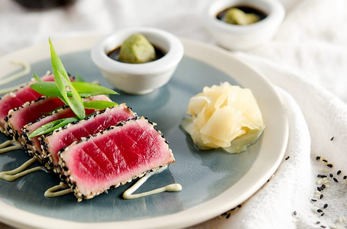 seared ahi tuna recipe keto