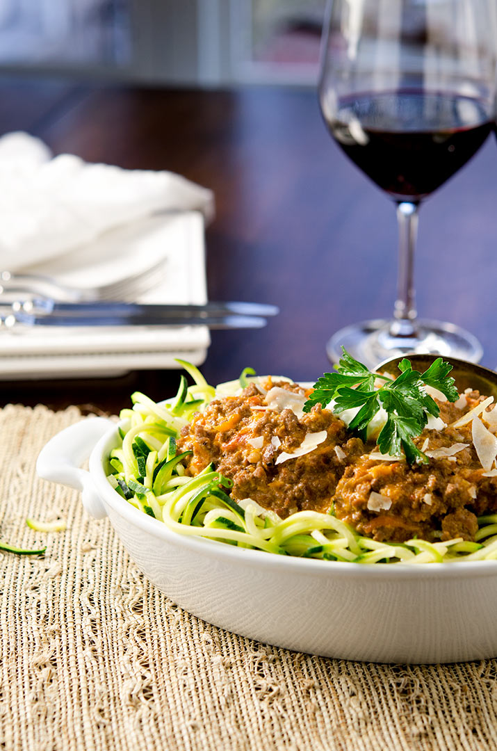 The perfect authentic bolognese sauce that is fit for your recipe box. There's a lot of love in this recipe.