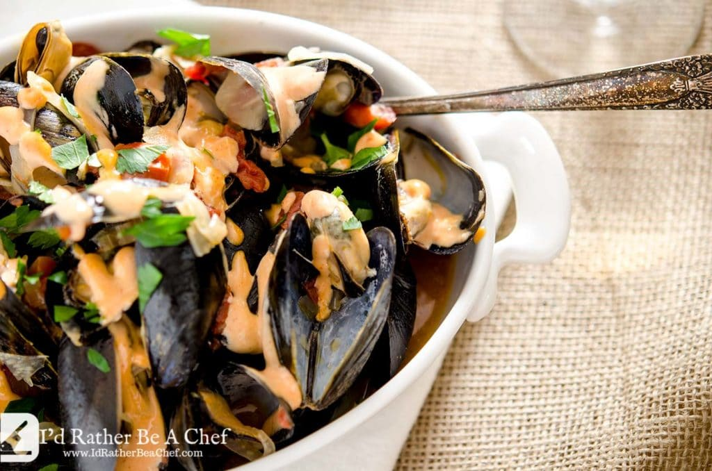 A delightfully easy mussels recipe with bold and delicious flavors. Try this wonderfully well balanced recipe today.