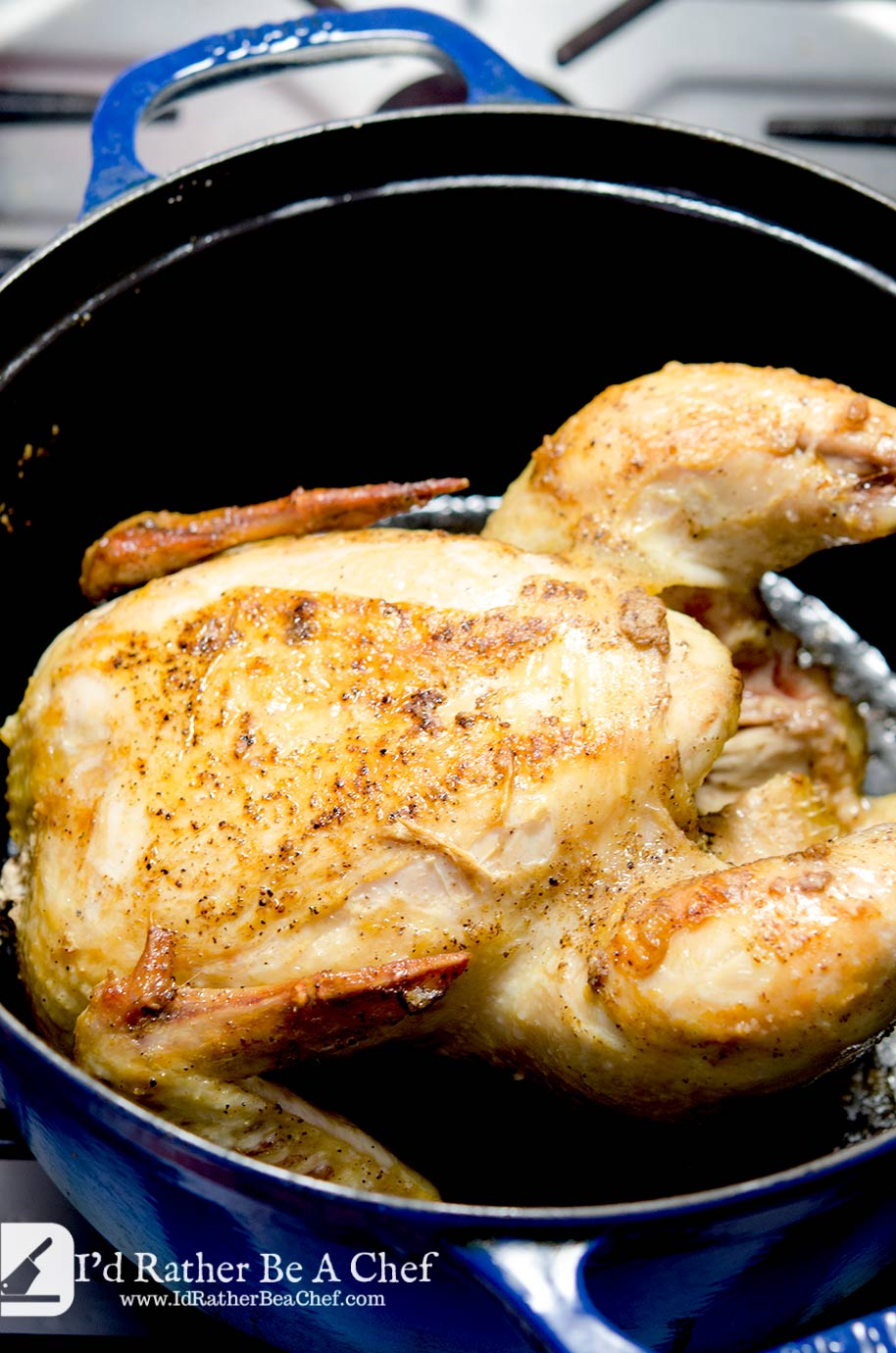 The perfect roast chicken doesn't need to be trussed or fussed with. All you need to know is your chicken will have crispy skin, tender meat and deep flavor.