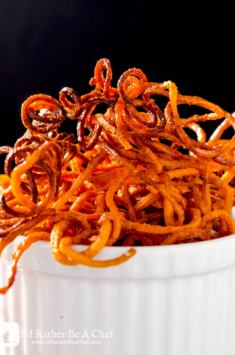 Sweet Potato Fries Recipe I D Rather Be A Chef