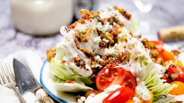 Ultimate Iceberg Wedge Salad
