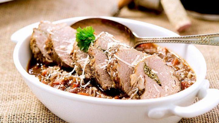 Roasted Pork Tenderloin with Veggies