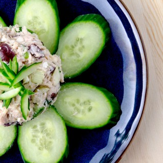 A tuna salad recipe that is different, fresh and delicious. How about a tuna salad without mayo recipe? Yep, this fills the bill.
