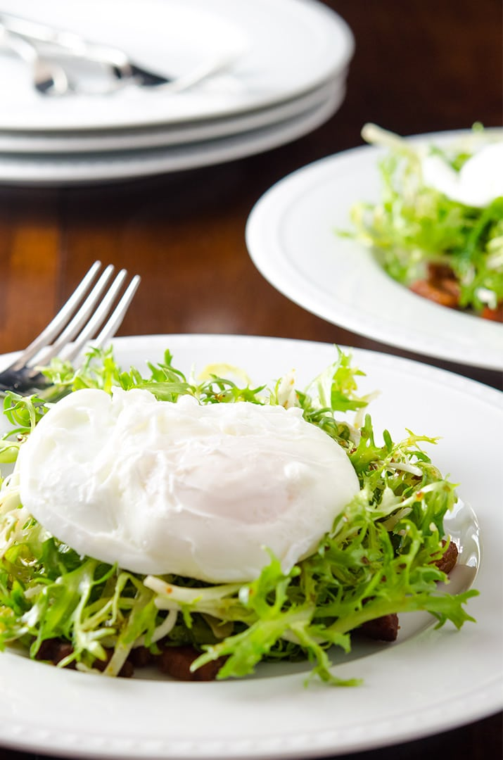always love the moment right before slicing into a poached egg. It ...