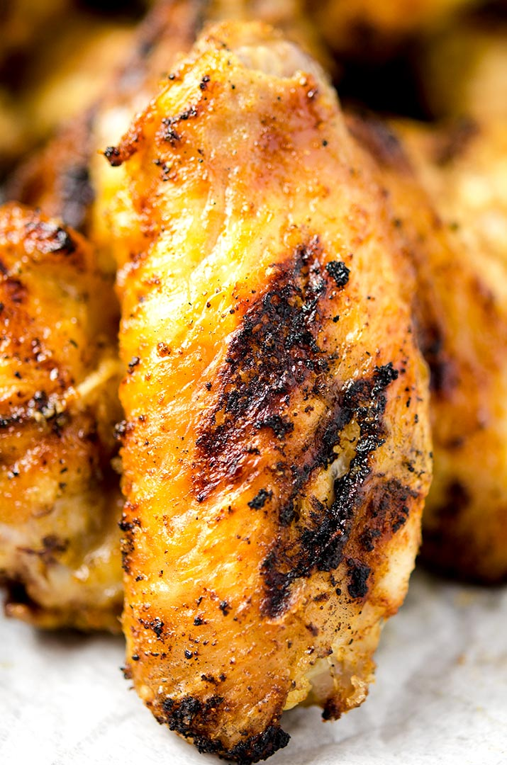 A grilled chicken wings recipe that is ready in about 20 minutes on the grill.