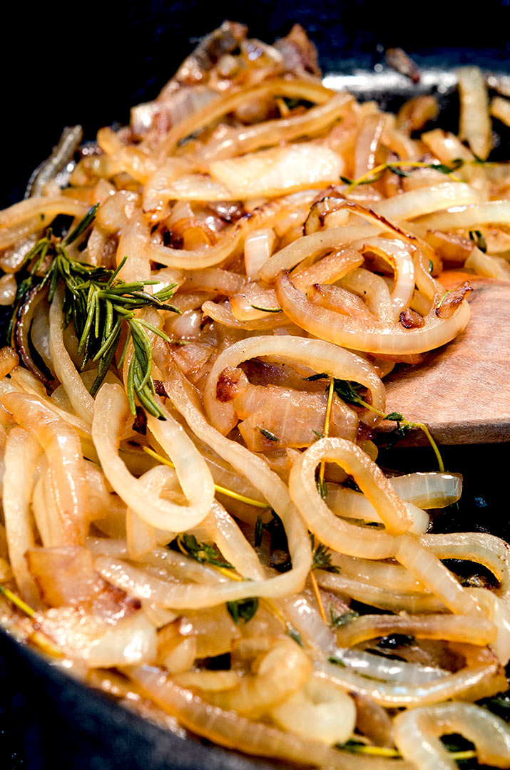 When you know how to saute onions, you can pair them with so many different dinner options.