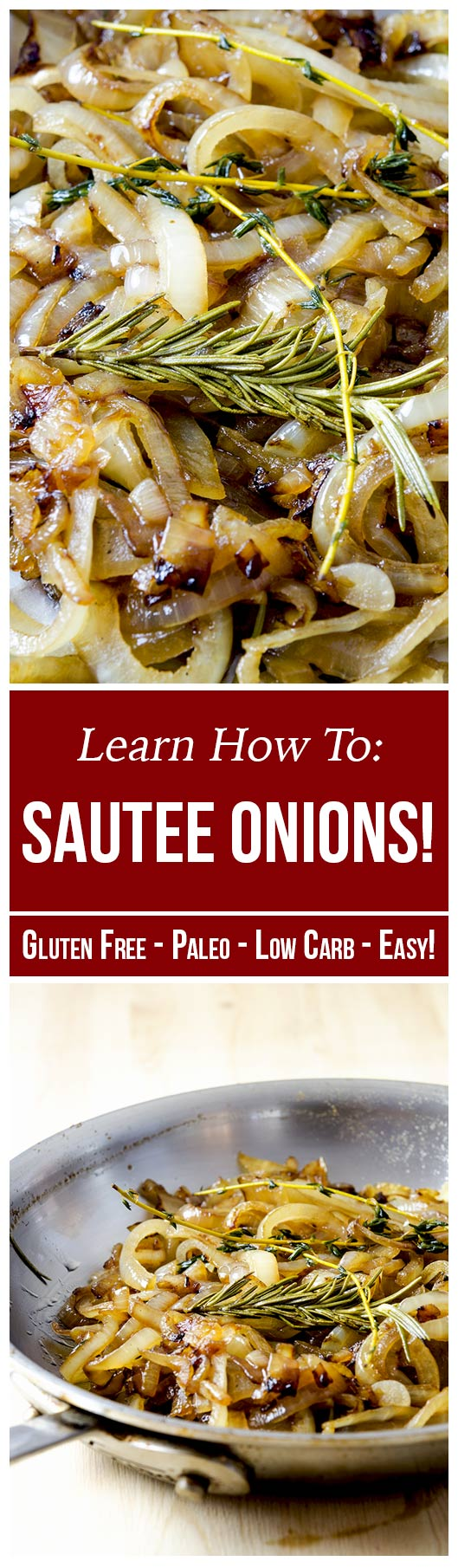 Learn how to saute onions easily and quickly with this wonderfully flavorful recipe.