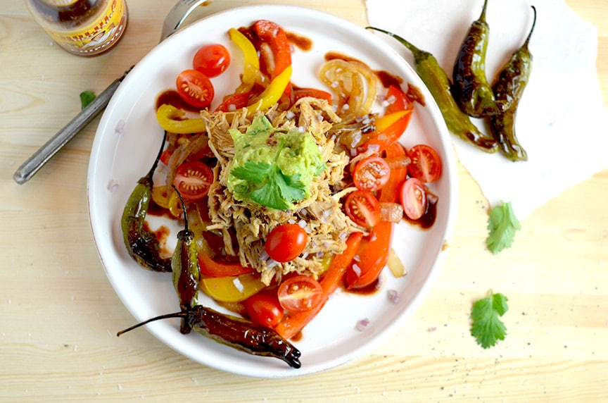 This low carb fajita dinner is fantastically easy to make... and is a great part of this low carb dinner recipes roundup.
