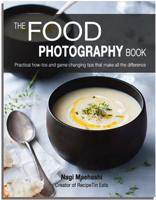 Photographing food with this book from Recipe Tin Eats will change how you look at food through the camera.