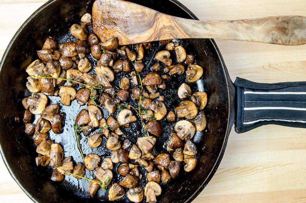 vegan sausage recipe mushroom süprmarkt
