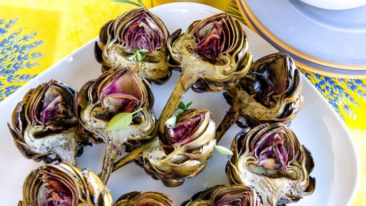 AWESOME GRILLED ARTICHOKES