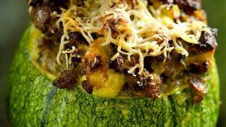 Stuffed Zucchini Breakfast Feast