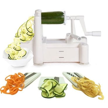 Tri-Blade Vegetable Spiralizer