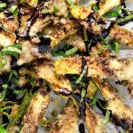 Baked zucchini fries have a caramelized crunchy crust and a crispy parmesan layer making them absolutely irresistible!