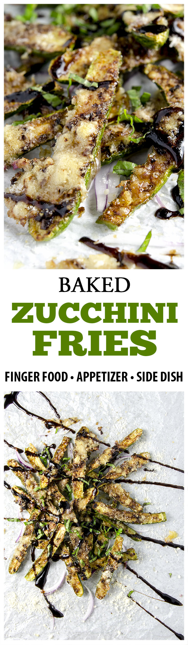 Making zucchini fries is easy, delicious and addicting! These healthy little bites of joy are a perfect side dish or appetizer for your next gathering.