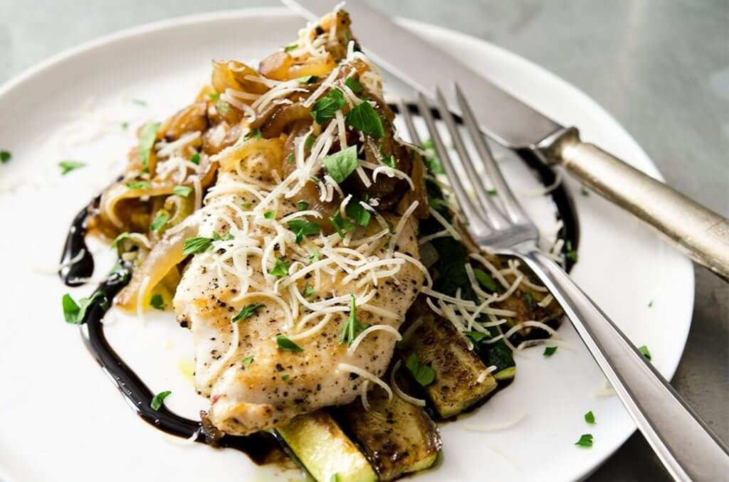 Lovely sauteed chicken breast recipe for dinner.