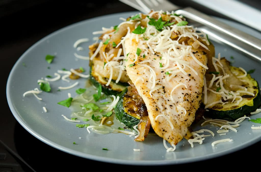 This yummy sauteed chicken breast recipe is ready in no time flat and perfect for an easy weeknight meal.