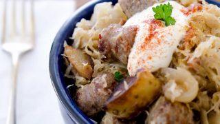 Old World Sausage and Sauerkraut