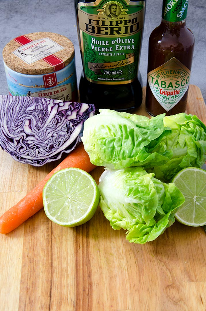 This Mexican slaw is the heart of the southwestern salad with its tangy Chipotle Salad Dressing.
