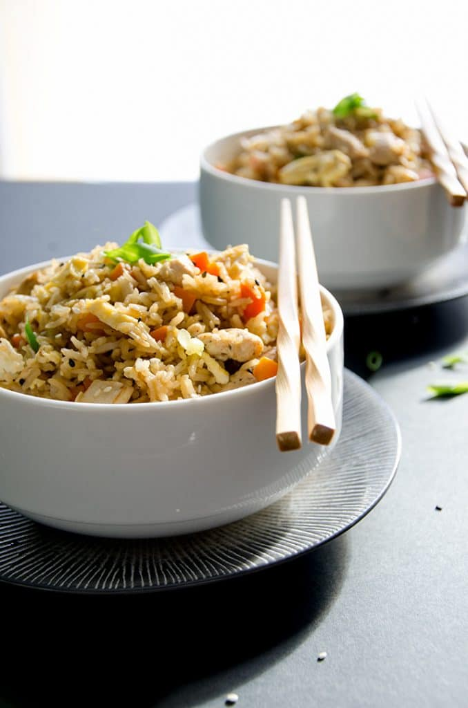 There's nothing better than this fried rice recipe any night of the week. It's so simple and delicious you'll make it all the time!