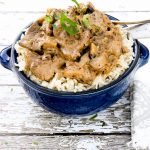 As usual, I just want to reach my fork into the screen and take a bite. This is an easy beef stroganoff recipe to add into your rotation!