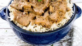 Saucy Beef Stroganoff Recipe