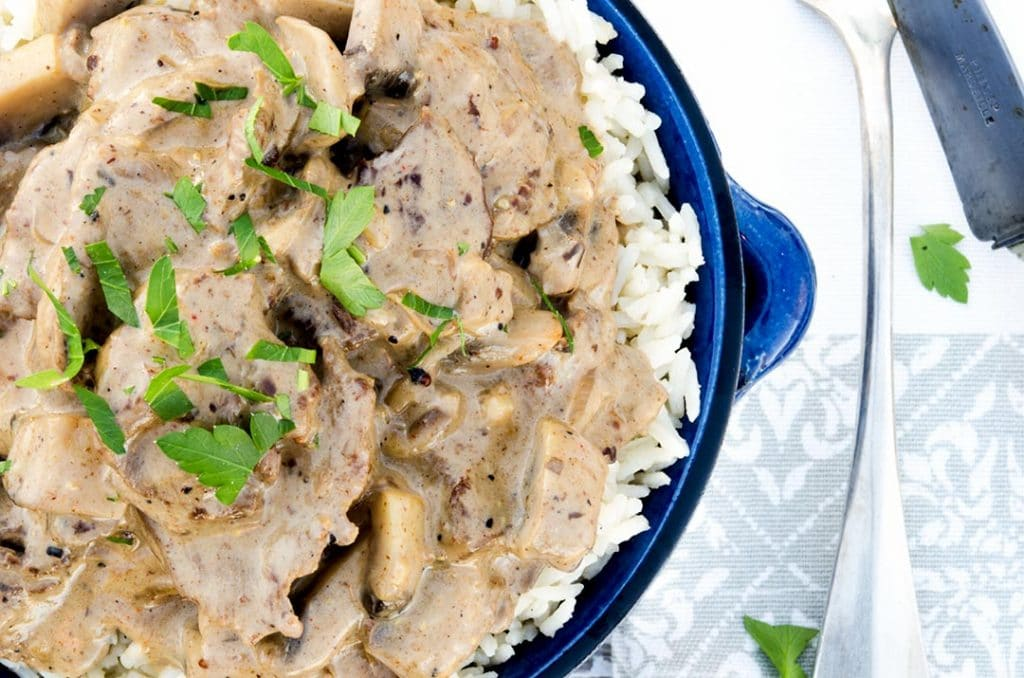 This easy beef stroganoff recipe is fast, filling and fantastic.