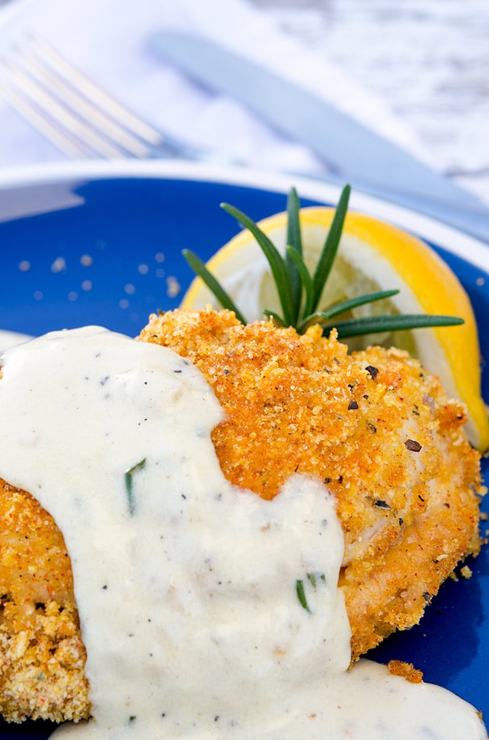 Creamy Chicken Cordon Bleu Stuffed Chicken | Stuffed Chicken Breast Recipes Round-up
