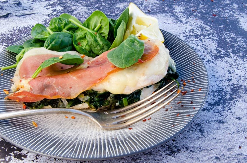 A perfectly simple and delicious chicken saltimbocca recipe ready for your table in no time flat!